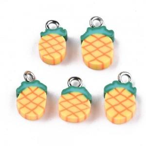 Fimo Privezak Ananas