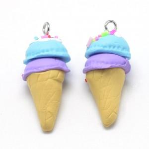 Fimo privezak Sladoled