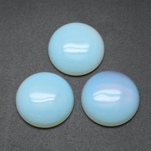 Cabushon Opalite 25 mm