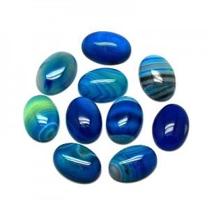 Lace Agate Blue 18 mm
